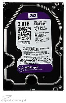 Dysk HDD Western Digital Red 2TB 3.5' SATAIII 64MB (WD20EFRX)