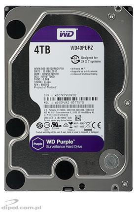 HDD Western Digital PURPLE WD40PURX 4TB (3.5