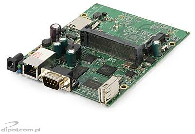 RouterBoard 411U (MikroTik license level 4)