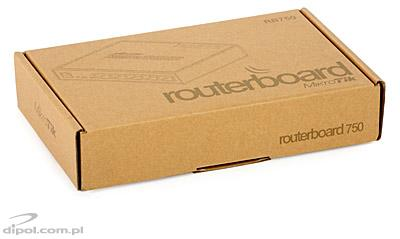 5-port Router: MikroTik RouterBOARD 750