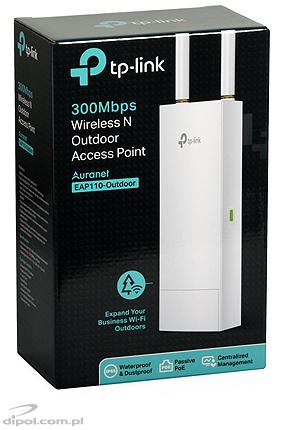 Wireless Access Point TP-LINK EAP110-Outdoor (802.11n/300Mbps, PoE)