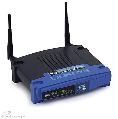 Access Point: Linksys WRT54GL (4p-switch &router, 2.4 GHz, 54Mbps)