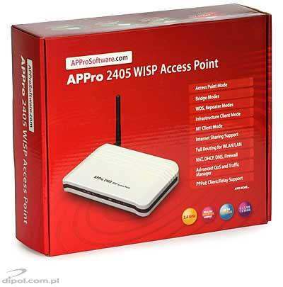 WISP Access Point: APPro 2405 (2.4 GHz)