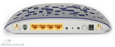 ADSL Router w. 4-port Switch & 802.11n AP: TP-Link TD-W8960N