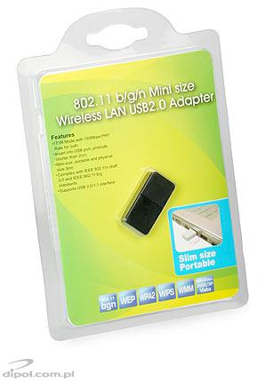 Wireless USB Adapter: RT5370 (802.11n 150Mbps)