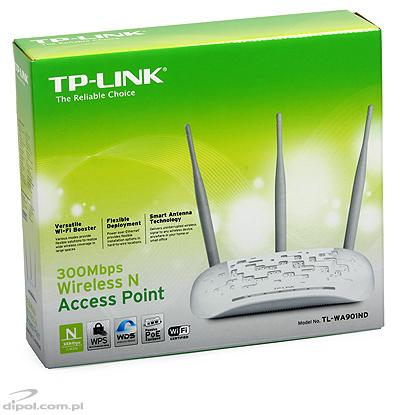Access Point TP-Link TL-WA901ND (2.4GHz, 802.11n, 300Mb/s)