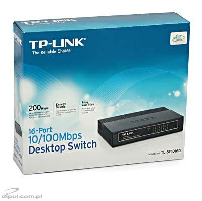 Switch TP-Link TL-SF1016D (16 ports)