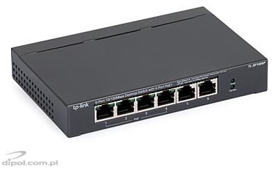 Switch TP-LINK TL-SL1226, 24+2porty Gigabit-Uplink RACK