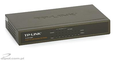 PoE Switch: TP-LINK TL-SF1008P (8x10/100Mb/s incl. 4xPoE)