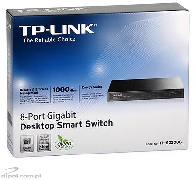 PoE Switch: TP-LINK TL-SF1008P (8x10/100Mb/s, 4xPoE)