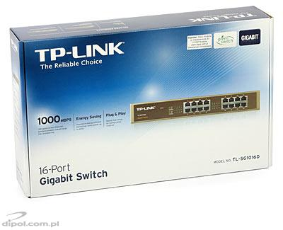 16-port Gigabit Switch: TP-Link TL-SG1016D