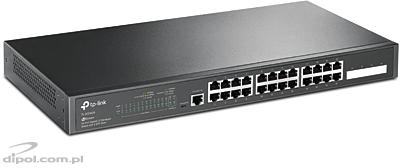 Managed Switch: TP-LINK TL-SL5428E 24+4G 2xSFP RACK