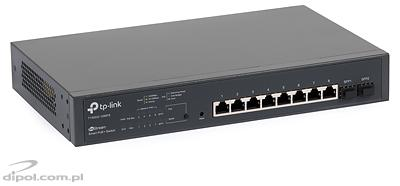 Switch cu management: TP-LINK TL-SG3424P JetStream (24xGbE-PoE, 4xSFP)