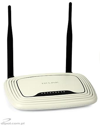 Access Point TP-Link TL-WR841ND (300Mbps, router şi switch de 4 porturi)