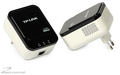 Powerline Ethernet Adapters: TP-LINK TL-PA101KIT (85Mbps, 2pcs)