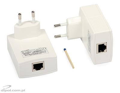 Kit Ethernet Powerline TP-Link TL-PA2010KIT (Nano, 2buc, 200Mbps)