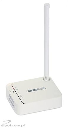 Router Wireless: TOTOLINK N100RE-V3 (WiFi 150Mbps, WAN 100Mbps, 2xLAN 10/100Mbps)