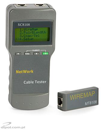Multifunctional Cable Tester (with LCD display)