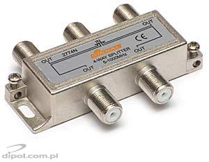 4-way TV / FM Splitter - Signal R-4