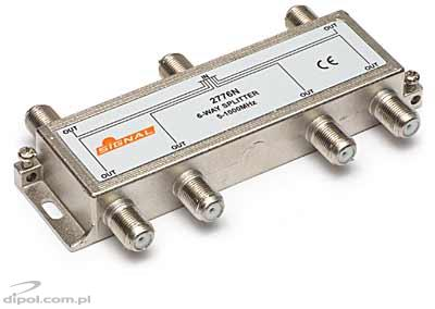 6-Way Splitter R-6 Signal