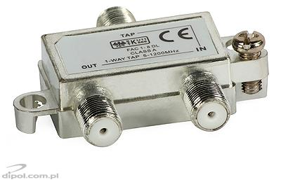 1-way Tap: FAC-1-6 dB (5-1000MHz)