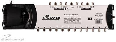 Multiswitch 5/4 Signal MP-0504L (amplificat, filtru LTE)