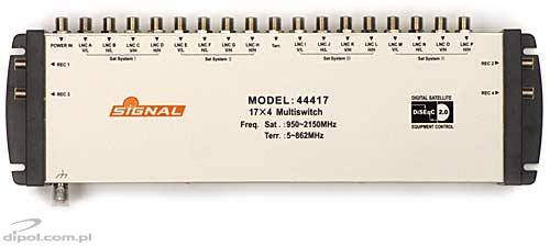 Multiswitch: Signal (17-input, 4-output) - CLEARANCE SALE!