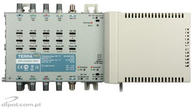 Amplifier for 5-input multiswitches: Terra SA 51 (class A)