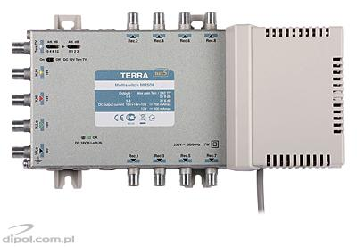 5/4 Multiswitch: Terra MSR-504 (active terrestrial path)