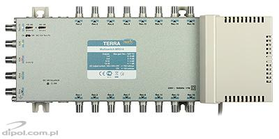 5/12 Multiswitch: Terra MR-512 (active terrestrial path)