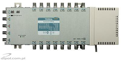 Multiswitch Terra MR-532 (1xSAT+CATV, 32 ieşiri, amplificat, CLASS A)