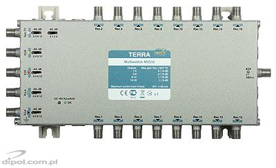 5/12 Multiswitch: Terra MV-512 (IF gain adjustment, class A)
