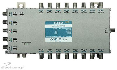 5/32 Multiswitch: Terra MV-532 (IF gain adjustment, class A)