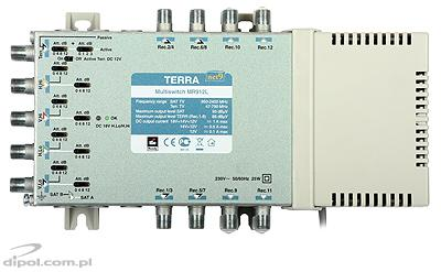 9/12 Multiswitch: Terra MR-912L (active terrestrial path, class A)