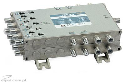 9/8 Multiswitch: TERRA MV-908L (active terr. path, class A, w/o PSU)