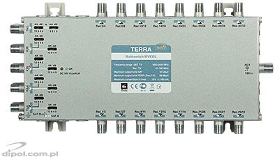 9/32 Multiswitch: TERRA MV-932L (active terr. path, class A, w/o PSU)