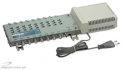 Amplifier for 9-input Multiswitches: Terra SA-91L (class A)