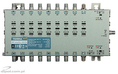 Amplifier for 9-input Multiswitches: Terra SA-91DL (class A)