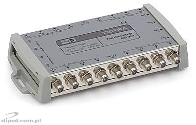 Amplifier for 5-input multiswitches: Terra SA 501