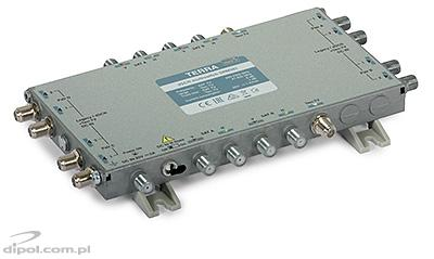 Single-cable dSCR Multiswitch: Terra SRM-580 (class A, active Terr.TV path)