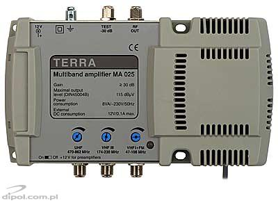 Multiband Amplifier Terra MA-025