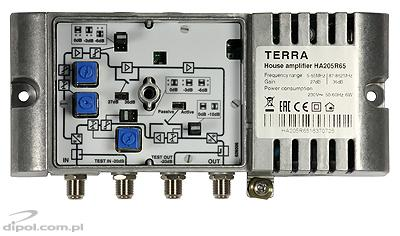 Building Amplifier: Terra HA-123