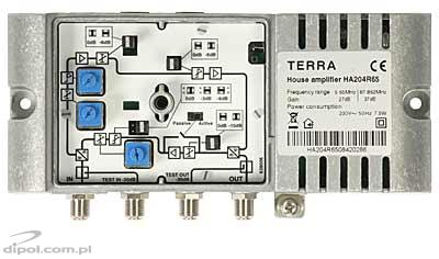 Broadband Cable Amplifier: Terra HA-204R65