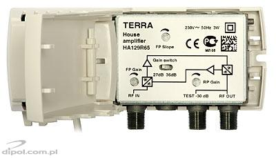 Building Amplifier w. Active Return Path: Terra HA-129R65