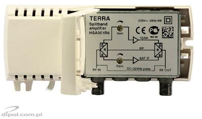 Terrestrial &SAT TV Amplifier (w. return path): Terra HSA-001R6