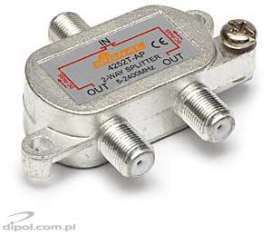 2-way SAT / TV / FM Splitter RSAT 1>2F Signal