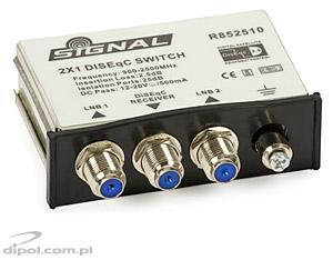 DiSEqC 2.0 Switch: Signal 2x1 DS-7021