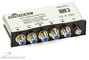 DiSEqC 2.0 Switch: Signal 4x1 DS-7041