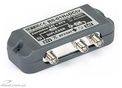 TV/SAT Combiner - Splitter RS-01/DC