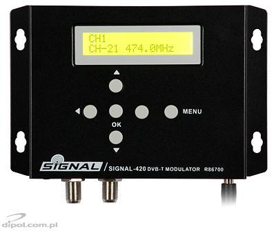 DVB-T Modulator Signal-400 (COFDM, HDMI)